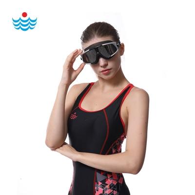 浪姿防水泳镜游泳眼镜成人男女潜水镜高清防雾大框电镀泳镜G103